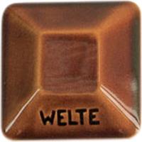 Welte bleifreie Glanzglasur KGG 5 dunkelbraun