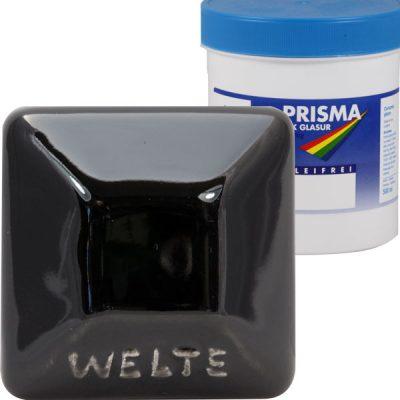 Welte flüssige Glanzglasur FGG 77 - schwarzglanz