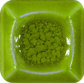 Welte Steinzeugglasur KGS 81 – gelb-grün